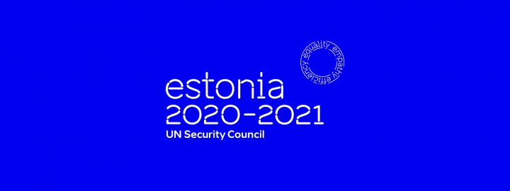 Estland in den VN-Sicherheitsrat 2020-2021