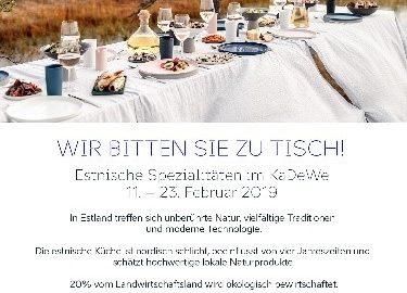 Entdecken sie Estland kulinarisch in Berlin
