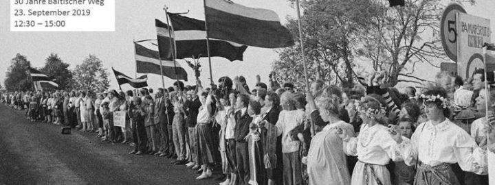 30 Jahre Baltischer Weg – eine Podiumsdiskussion