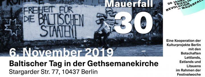 Baltischer Tag in der Berliner Gethsemanekirche