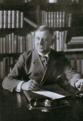 August Winnig aastal 1920. Foto: August Winnigi arhiiv