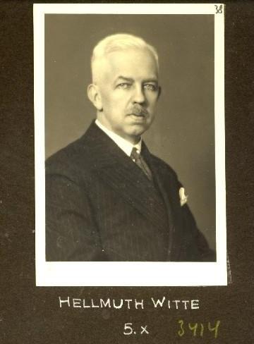 Hellmuth Witte, deutscher Honorarkonsul seit 1924. Foto: Stadtarchiv Tallinn