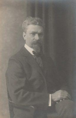 Mihkel Martna 1920ndatel aastatel. Foto: Rahvusarhiiv