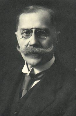 Eduard Vilde saadikuna Berliinis. Foto: välisministeeriumi arhiiv