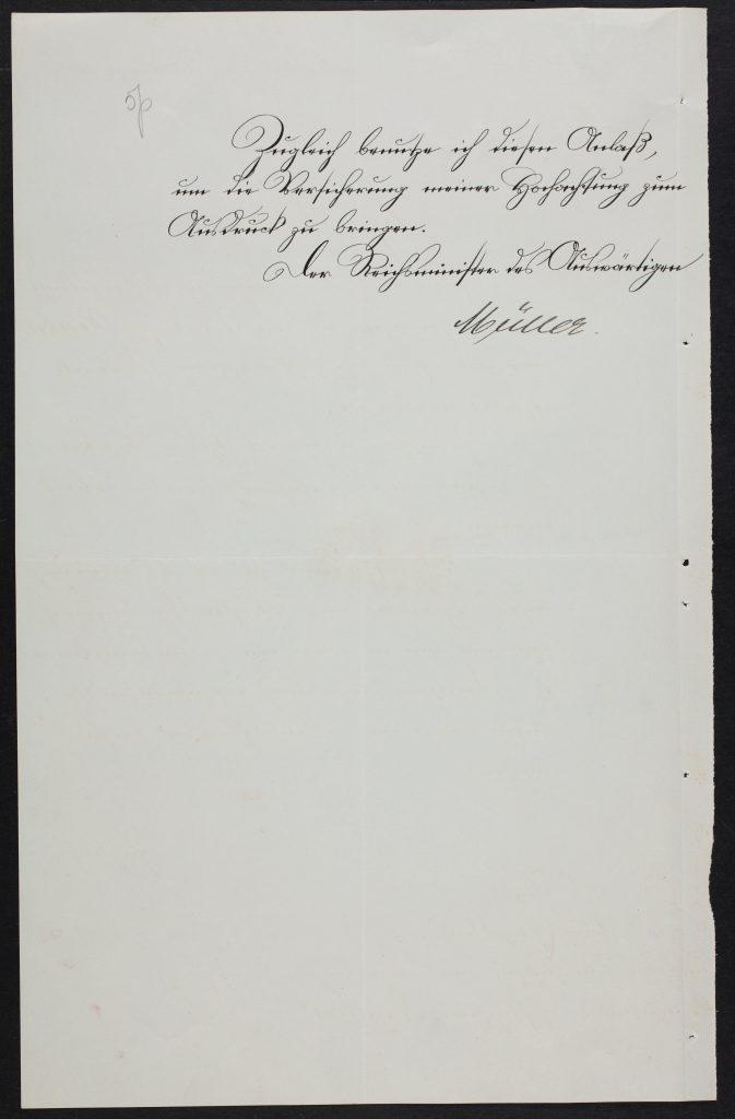 Fritz Henkels Beglaubigungsschreiben. Foto: Estnisches Nationalarchiv ERA.957.7.8