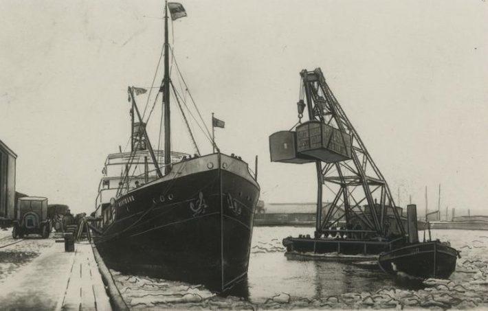 Saksa kaubalaev