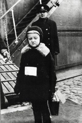 Baltisakslaste lahkumine Eestist 18. oktoobril 1939. aastal. Foto: Rahvusarhiiv