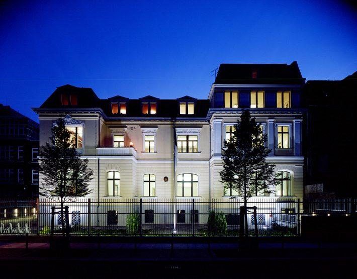 Berliini saatkonna maja pärast tagasi saamist ja renoveerimist. Foto: Eesti suursaatkond Berliinis