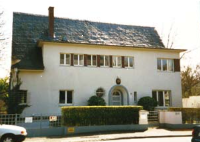 Das Gebäude der estnischen Botschaft in Bonn. Foto: Archiv des Außenministeriums
